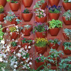 PlantScape Large Terra Vertical Garden Wall Hanging Plant Flower Planter Panel #Palram