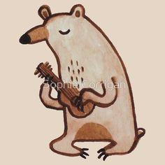 Ukulele Bear