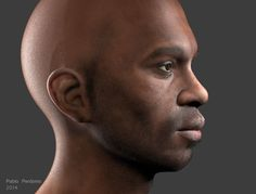 B3 - Black Man Render Real Time Vray RT 3.0 - CG Gallery - Computer Graphics Forum