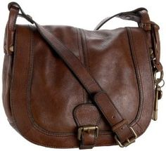 Brown Leather Over The Shoulder Bag – Shoulder Travel Bag