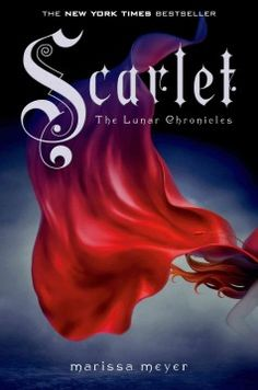 Scarlet by Marissa Meyer.  Click the cover image to check out or request the teen kindle.