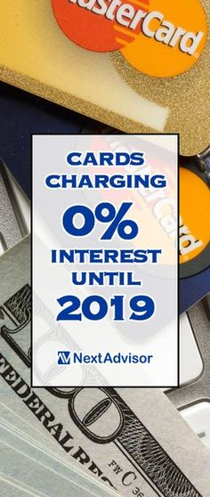 A credit card that charges no interest can really come in handy for your busy lifestyle, especially if you're carrying a balance and paying interest each month. NextAdvisor.com has 2017's best low apr credit card offers, including cards that have you paying no interest until 2019!