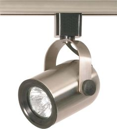 Nuvo TH317 Brushed Nickel 1 Light - MR16 - 120V Track Head - Round Back