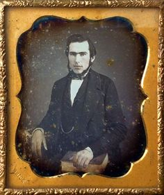Daguerreotype by African American Black Photographer Francis Grice NYC 6th Plate…