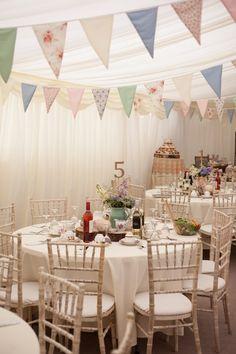 Marquee Wedding - Jessica and Antony's Vintage Wedding