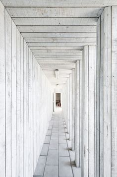 Concrete Pavers at a Chapel in Chile by Land Arquitectos