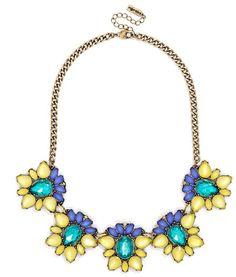 Summer | Jewelry | Acid Blossom Collar