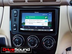 Mercedes ML300 with Android Auto installed at DriveSound.