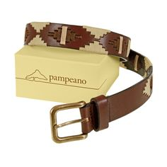 inspired by our own iconic cream and brown logo, featuring the beautiful el calden tree and expansive horizon line of la pampa, pampeano introduces the new 'moca' polo belt to our stunning #polobelt collection