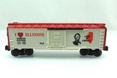O Lionel 19933 I Love Illinois Box Car 6 19933   eBay