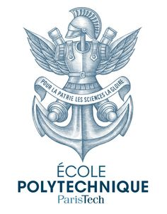 Ecole Polytechnique Logo Illustrated by Steven Noble on Behance