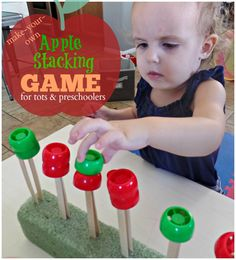 Apple Stacking Game