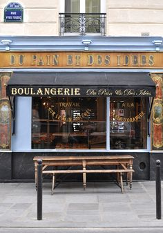 du pain et des idées   #paris