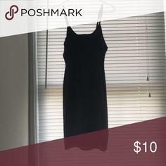 Bodycon dress Black spaghetti strap bodycon dress Dresses Midi