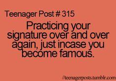 I'll take a pic to prove tht I do this!