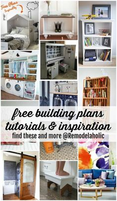 Free building plans, tutorials, and more at Remodelaholic.com #diy