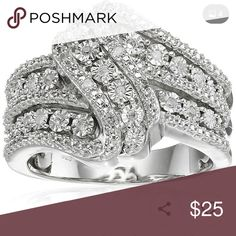 JUST ARRIVED! Stunning ring♡♡♡ Gorgeous♡♡♡  I'm not responsible if an item does not fit. If you need more measurements or have questions, please ask prior to purchase. Jewelry Rings