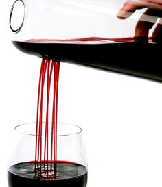 Rainman wine decanter by Skruf.