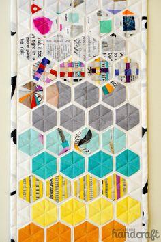 Modern Handcraft - Paint Mini Quilt