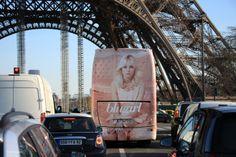 Blugirl Goes to Paris - Spring Summer 2014 Bus Sign Advertising