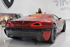 Электро суперкар Rimac Concept One
