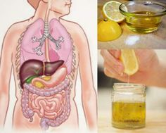 Healthy Liver with just One Morning Sip of This Drink:  a tablespoon of olive oil and a tablespoon of lemon or lime juice. Mix it well and drink it on an empty stomach. Follow this regimen for thirty days.