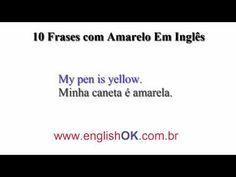 10 Frases com Amarelo Em Inglês | EnglishOk http://www.englishok.com.br/10-frases-com-amarelo-em-ingles/