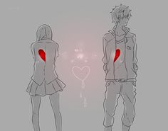 Image via We Heart It https://weheartit.com/entry/78566207/via/8285493 #anime #cute #heart #animecuple.