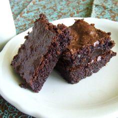 Perfect Fudgy Brownies {Grain Free & Paleo}