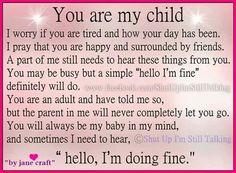 For Adult Children