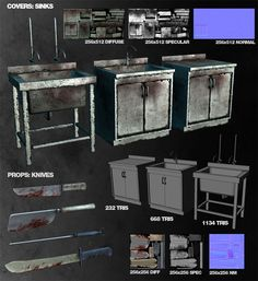 Wanted Weapons of Fate Game Assets, 3d Assets, Video Game Development, Digital Sculpting, Game Props, Zombie Art, Low Poly Models, D House, 3d Studio