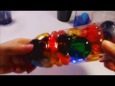 Do It Yourself! Coloring Orbeez and Making  Orbeez Lamp!! 개구리알 염색시켜서 램프만...