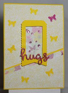 Tinas kreative Seite - Karte - CAS -hugs