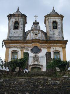 N. Sra da Mercês e Perdões church Ouro Preto Minas Gerais Brazil Baroque Rococo