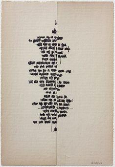 Cecil Touchon - Asemic poem