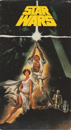 Star Wars (1977) - Luke Skywalker joins forces with a Jedi Knight, a cocky pilot, a wookiee and two droids to save the universe from the Empire's world-destroying battle-station, while also attempting to rescue Princess Leia from the evil Darth Vader.