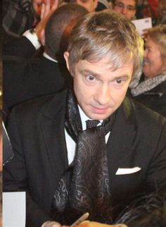Martin Freeman looking dapper at the The World's End, NZ Premiere, July 2013