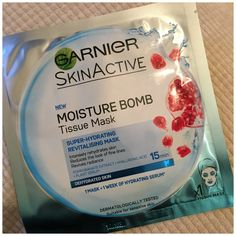 Hi Guys, I have been wanting to try a sheet mask for so long and I was so pleased to see that these Garnier Moisture Bomb tissue masks were on promotion in Superdrug so I picked two of them up! Garnier Skin Care, Hydrating Serum, Sheet Mask, Sensitive Skin, Moisturizer, Face, Beauty, Moisturiser, The Face