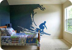 Surfer Boy Stencil...where to get it!@ Make Them Wonder Blog