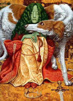 'Fairy Tales of Foggy Albion' by Vladislav Erko