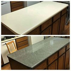 Ez Faux Decor Soapstone MATTE Finish Dark Gray Self-Adhesive Countertop Roll Kitchen Update Marble and Granite NOT Contact Paper Soapstone Countertops, Painting Formica Countertops, Countertop Refinishing Kit, Countertop Makeover, Countertop Decor, Furniture Refinishing, Painting Furniture, Updated Kitchen, Diy Kitchen