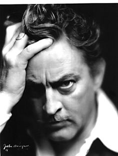 Famed icon actor John Barrymore also the Grandfather of Drew Barrymore