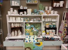 Mugs, espresso and egg cups, jugs and tableware