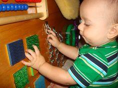 sensory play for infants