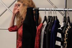 Juffrouw Jansen   Behind the scenes W17 Wardrobe Rack, Behind The Scenes, Kimono Top, Tops, Women, Fashion, Moda, Fashion Styles, Fashion Illustrations