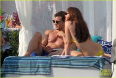 Shirtless Jamie Dornan & Bikini-Clad Dakota Johnson Film 'Fifty Shades' Beach Scene!: Photo #3704229. Jamie Dornan shows off his ripped shirtless body while filming the (spoiler alert) honeymoon scene for Fifty Shades Freed on Tuesday (July 12) in Saint-Jean-Cap-Ferrat,…