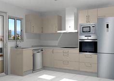 Circa Who Furniture Kitchen Wall Units, Kitchen Cabinet Layout, Modern Kitchen Cabinets, Kitchen Furniture, Kitchen Interior, Kitchen Decor, Kitchen Design, Small Kitchen Set, Kitchen Sets