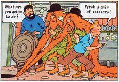 Tintin / Explorers on the Moon