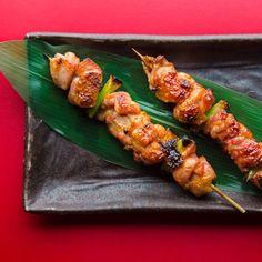 Chicken and Scallion Yakitori Recipe | Tasting Table
