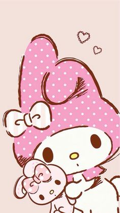 34 Ideas Wallpaper Iphone Cute Friends My Melody Sanrio Wallpaper, My Melody Wallpaper, Hello Kitty Wallpaper, Kawaii Wallpaper, Wallpaper Iphone Cute, Cute Wallpapers, Trendy Wallpaper, Sanrio Hello Kitty, Hello Kitty My Melody